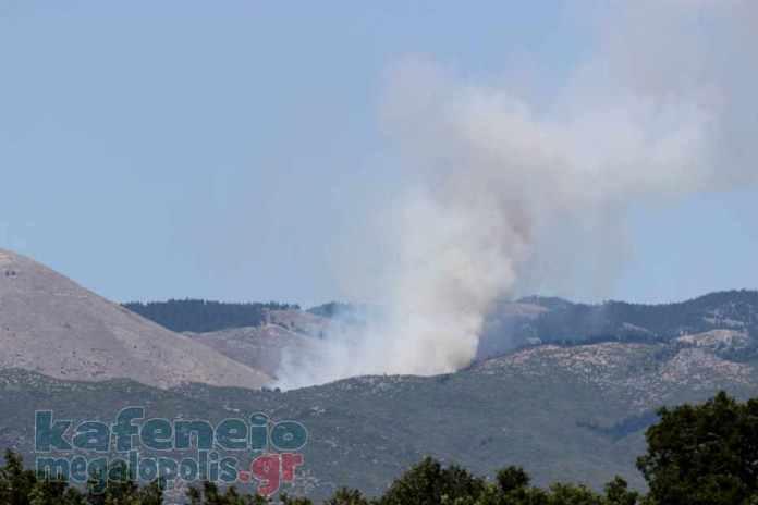 Πυρκαγιά στο Μαίναλο