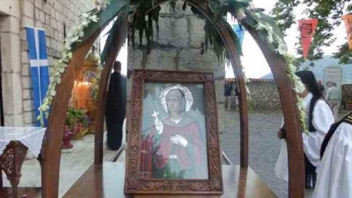 Εορτασμός της Αγίας Κυριακής στη Δημητσάνα