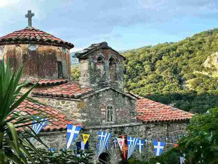 Oι λατρευτικές και εορταστικές εκδηλώσεις στην Ιερά Μονή Παναγίας Φιλοσόφου – Εγκαίνια της νέας Βιβλιοθήκης (photo)