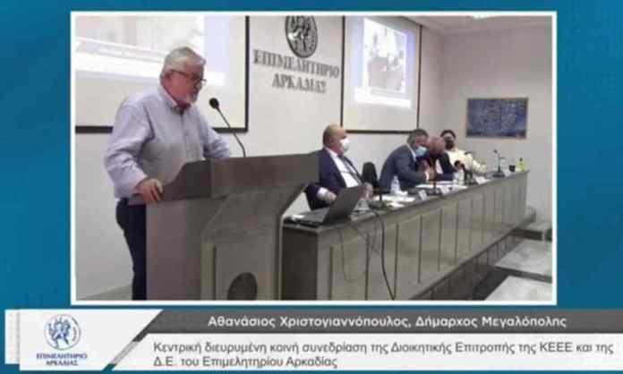 Δήμαρχος Μεγαλόπολης: Η μόνιμη πυρκαγιά στην Μεγαλόπολη είναι η απολιγνιτοποίηση (video)