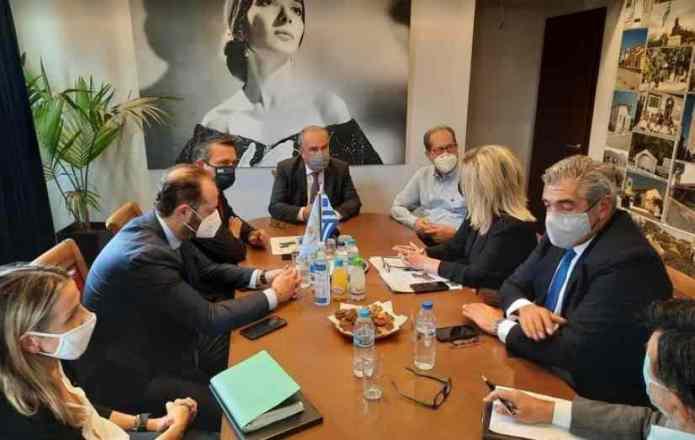 Παπαθανάσης, Μουσουρούλης και Νίκας πήγαν στον Μελιγαλά και ανακοίνωσαν επίσημα ότι εντάσσεται στο ΣΔΑΜ
