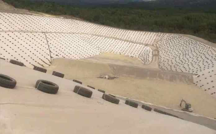Εξαιρετικοί οι ρυθμοί κατασκευής της μονάδας διαχείρισης απορριμμάτων στην Παλαιόχουνη