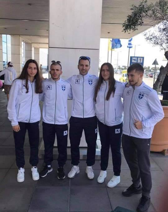 Η Ιωάννα Κονδύλη συμμετέχει στο Μεσογειακό πρωτάθλημα Καράτε με την Εθνική Ομάδα
