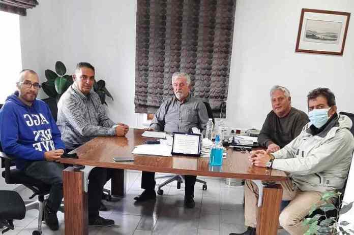 Συνάντηση του Δημάρχου Μεγαλόπολης κ. Αθανάσιου Χριστογιαννόπουλου με σωματεία των εργαζομένων της ΔΕΗ