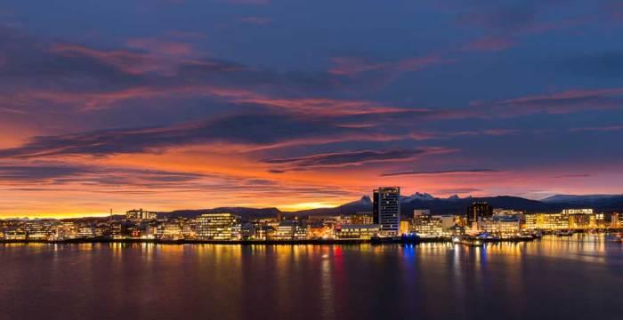 Bilde av Bodø by night