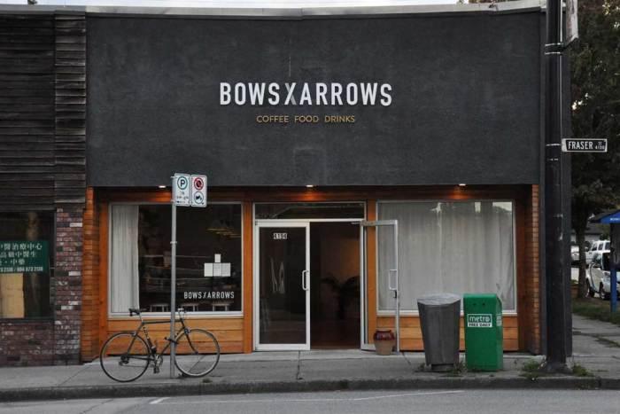 Bilde av fasaden på kaffebar