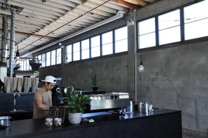 Bilde fra kaffebar i Vancouver