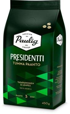 Bilde av kaffepose fra Paulig