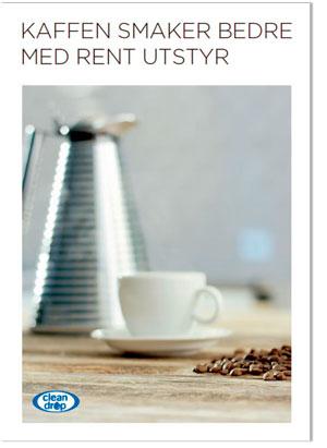 Link til brosjyre om renhold av kaffeutstyr
