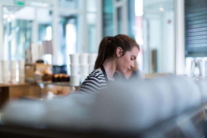 Bilde av barista hos Stockfleths