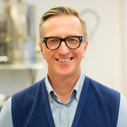 Mann med briller