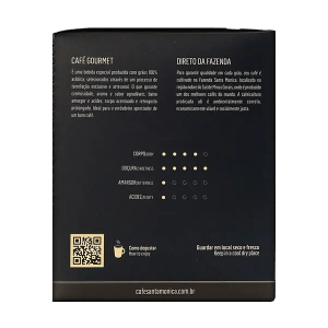 Kaffee Santa Monica Intenso, Sachets, 10 Stk. 4