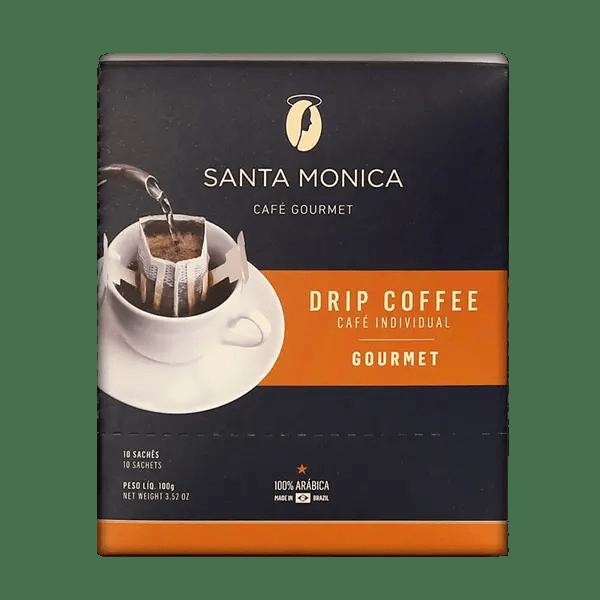 Kaffee Santa Monica Gourmet, Sachets, 10 Stk. 1