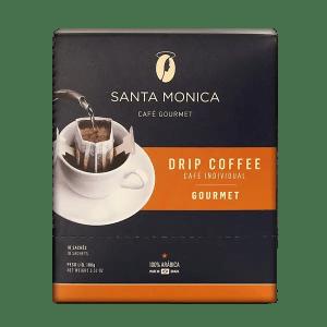 Kaffee Santa Monica Gourmet, Sachets, 10 Stk. 3
