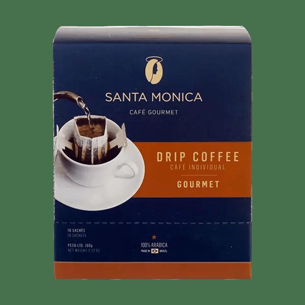3 x Gourmet Kaffee Santa Monica in Sachets 1