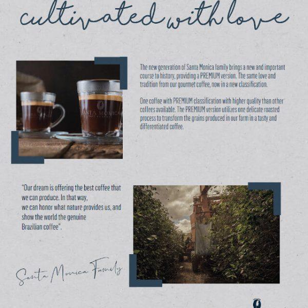 Premium Santa Monica Kaffeepulver