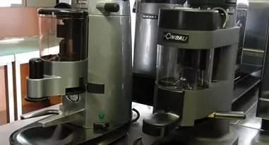 Industrie Kaffeemühle Scheibenmühle