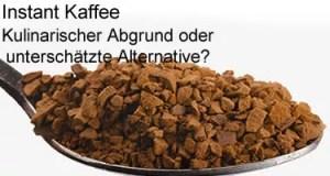 Instant Kaffee