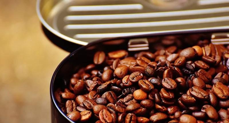 Aroma Kaffee und Kaffeepulver schützen