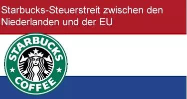 starbucks-steuerstreit Niederlande