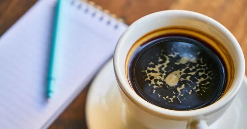 So trinken wir Kaffee