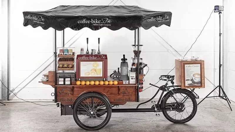 Coffee Bike Franchise Kaffee