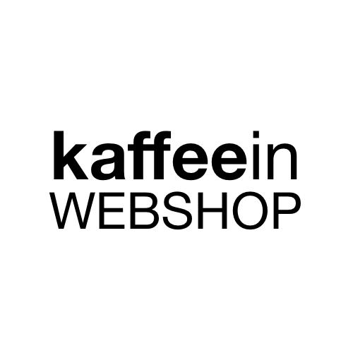 Logo kaffeein 500 x 500 für Webshop