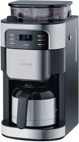 Severin KA 4812 - Kaffeemaschine mit Mahlwerk und Thermoskanne