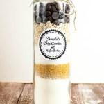 Backmischung Im Glas Fur Chocolate Chip Cookies Mit Haferflocken Kaffee Cupcakes