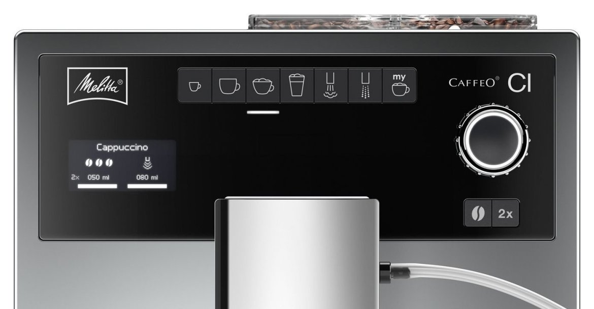 Melitta E 970-306 Caffeo CI One Touch Display