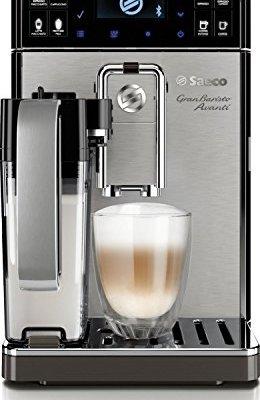 Saeco-HD897701-GranBaristo-Avanti-Kaffeevollautomat-AquaClean-Appsteuerung-integrierte-Milchkaraffe-silber-0