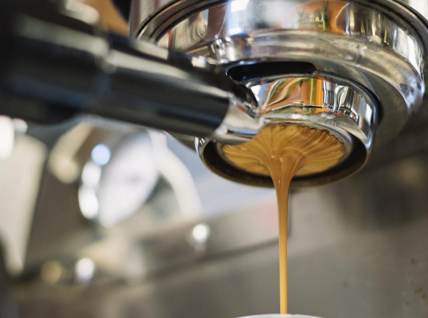 Rengjøring av kaffemaskin