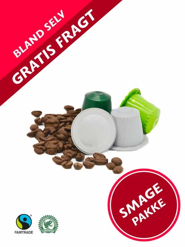 Prøvepakke / Smagepakke med Nespresso ® kompatible kaffekapsler