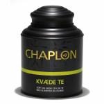 Chaplon - Grøn & Sort Kvæde Te i dåse Økologisk, 160 gram
