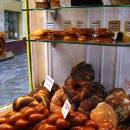 Jewish bakery and deli in the Marais quarter.