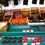 Fresh berries.