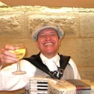 Saturday accordianist