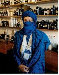 AbdesSalaam Attar or Dominique Dubrana via the NYT. Photo by Domingo Milella.