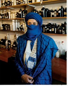 AbdesSalaam Attar or Dominique Dubrana via the NYT. Photo by Domingo Milella.