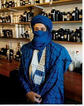 Dominque Dubrana or AbdesSalaam Attar via the NYT. Photo by Domingo Milella.