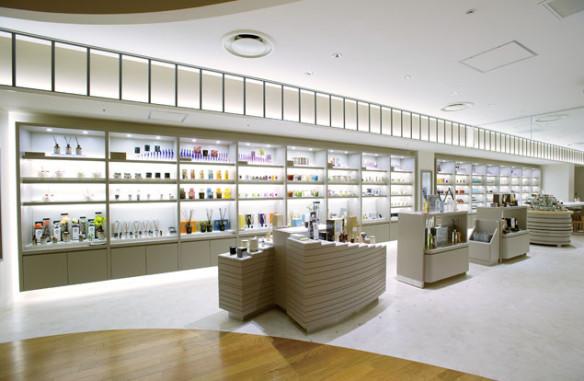 Isetan's fragrance floor. Source: globalblue.com