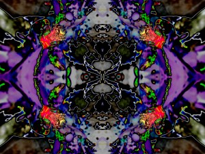 "Art, """"Tripping in the Courtyard 4A"" by Cosmo on Sacredsquare.wordpress.com. (Website link embedded within.)"