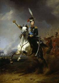 Tsar Alexander II, whose bespoke, custom scent was Violettes du Czar. Painting by Ivan Winberg, via liveinternet.ru