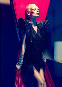 Edita Vilkeviciute by Camilla Åkrans in 'Stardust' for Numéro, May 2011. Source: fashiontography.net