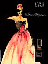 Vintage ad for Fracas, perhaps circa 1948. Source: yesterdaysperfume.typepad.com