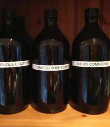 Papillon Perfume Compounds. Source: Liz Moores.