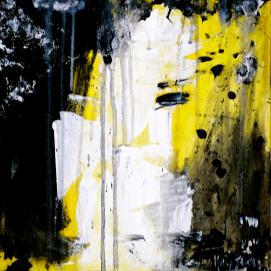 """Yellow Black"" by Kelly S. on Fine Art America. (Direct website link embedded within.)"