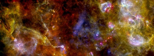 Photo: ESA's Herschel Space Observatory,  Cygnus X. Source: sci.esa.int
