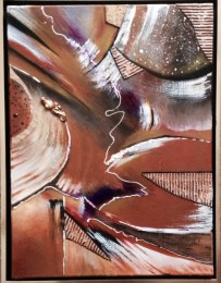 """Chocolate on My Mind,"" Painting by Pamela Van Laanen. Source:  AbsoluteArts.com (direct website link embedded within.)"