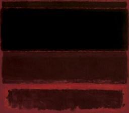 """Mark Rothko, """"Four Darks in Red,"""" 1958, via the Whitney museum website."""